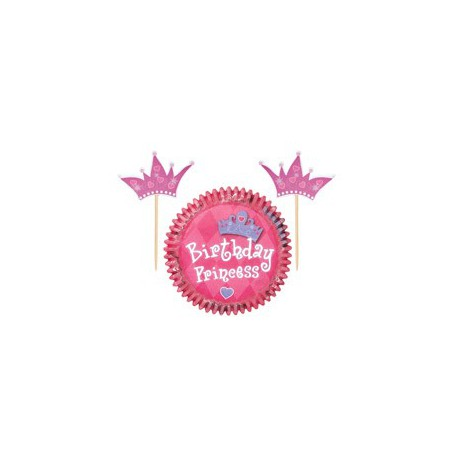 Kit Decorazione Cupcake 24pz