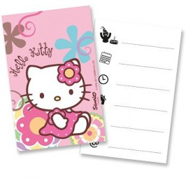Borsine Party Hello Kitty Bamboo 6pz
