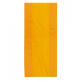 Orange cellophane bags
