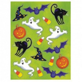 Adesivi Assortiti Halloween 4pz