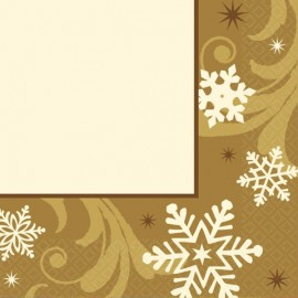 Piattini Natale Dorato