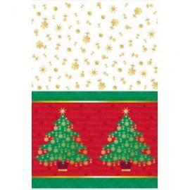 Tovaglia Plastica Albero Natale