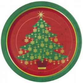 Christmas Tree Dessert Plates