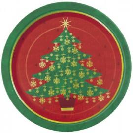 Piattini Albero Natale