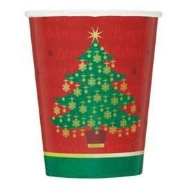 Bicchieri Albero Natale