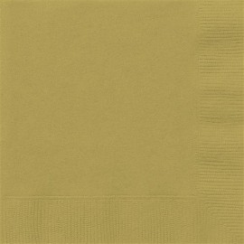 Golden Paper Lunch Napkins