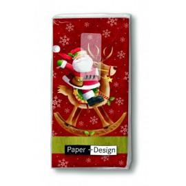 Santa Rides Hankies