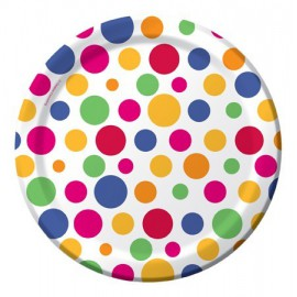 Party Dots Dessert Plates