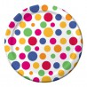Piatti Party Dots 22cm 8pz