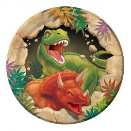 Dino Blast Dessert Plates
