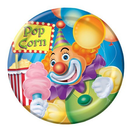 Piattino festa circo