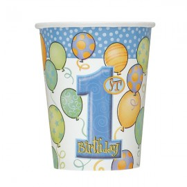 Blue Balloons Cups