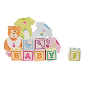 Baby Bear Favor Box Centerpiece