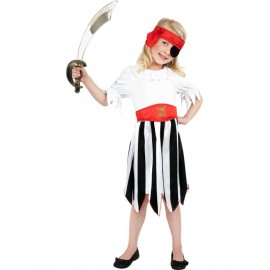 Pirate Girl Costume 4-6 years