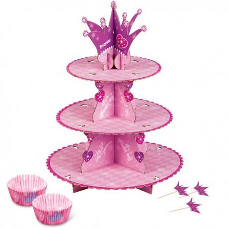 Alzata per Cupcake Minnie 3 livelli