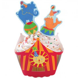 Set Decorazione Cupcake Circo