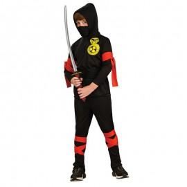 Ninja Costume 8-10 years