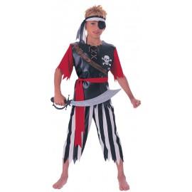 Pirate King Costume 8-10 years