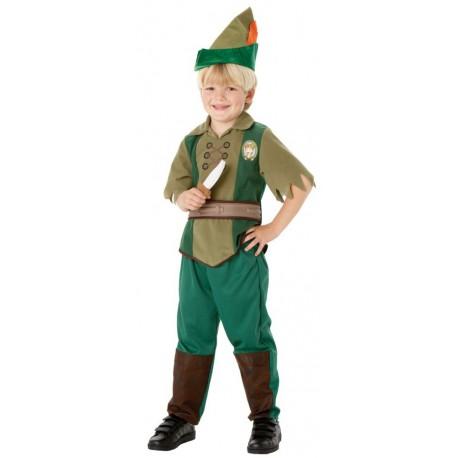Costume Peter Pan 7-8 anni