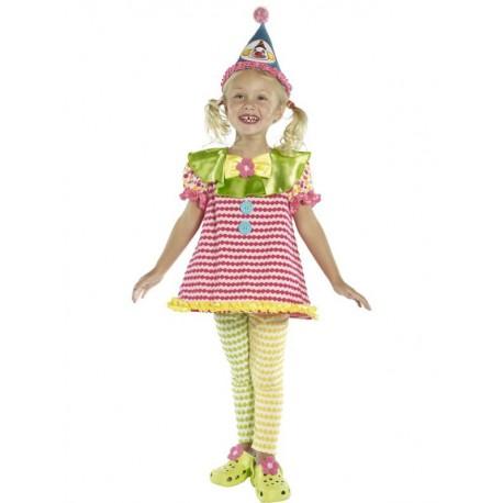 imballaggio forte maggiore sconto di vendita venduto in tutto il mondo Costume Clown - Costumi Carnevale Bambina