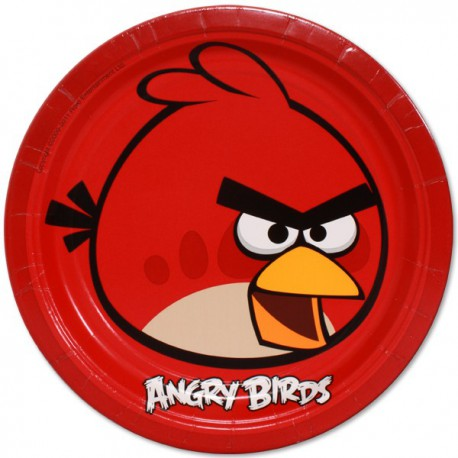 Angry Birds Dinner Plates