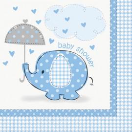 Piattini Elefantino Azzurro