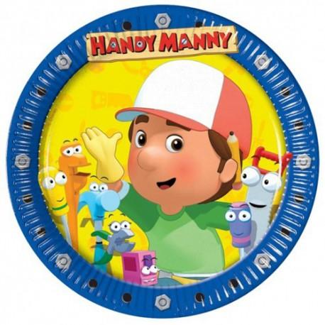 Handy Manny Dessert Plates