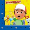 Handy Manny Lunch Napkins