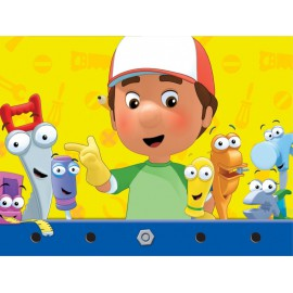 Handy Manny Plastic Tablecover