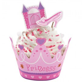 Set Decorazione Cupcake Principessa