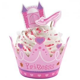 Set Decorazione Cupcake Principessa