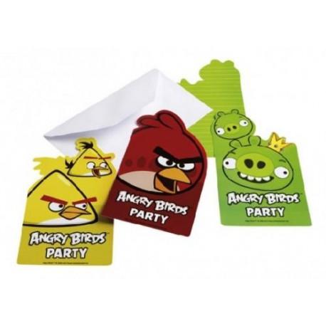 Bicchieri Angry Birds 8pz