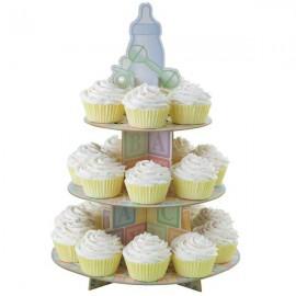 Alzata per Cupcake Baby