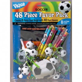 Championship Soccer Value Favour Pack