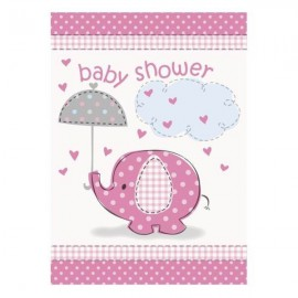 Umbrellaphants Pink Invites