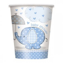 Umbrellaphants Blue Lunch Napkins