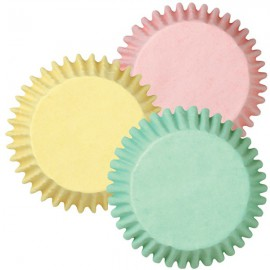 Cupcakes Baking Cups Pink, Yellow, Green