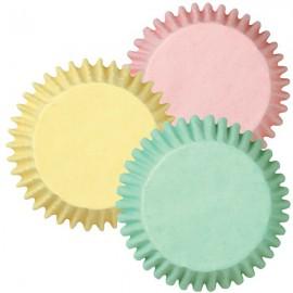 Pirottini Muffins e Cupcake Colori Pastello