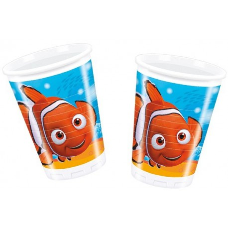 Bicchieri Plastica Nemo