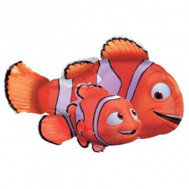 Palloncino Foil SuperShape Nemo e Marlin