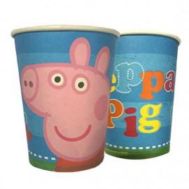 Bicchieri in carta Peppa Pig