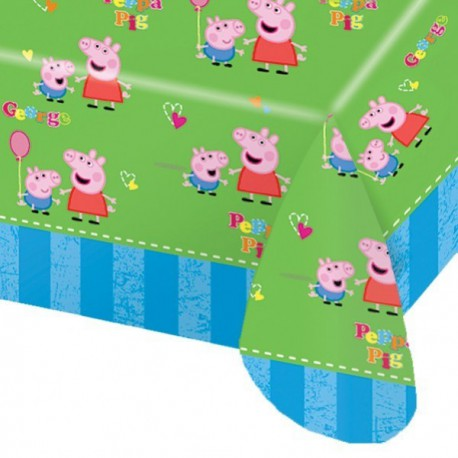 Peppa Pig Plastic Tablecover