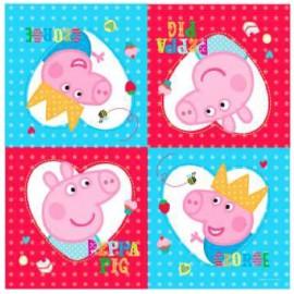 Tovglioli Peppa Pig e George