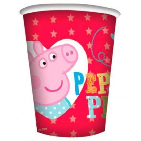 Bicchieri Peppa Pig and George