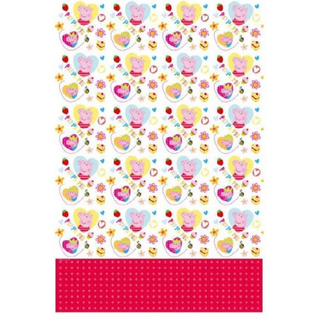 Peppa Pig and George Plastic Tablecover