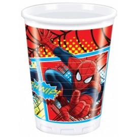 Spiderman Plastic Cups