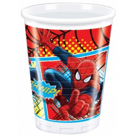 Spiderman Plastic Cups