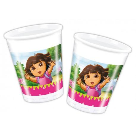 Dora Plastic Cups
