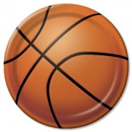 Basketball Dessert Plates