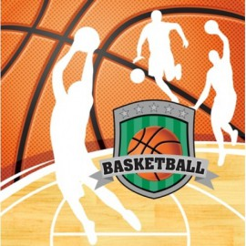 Basketball Lunch Napkins